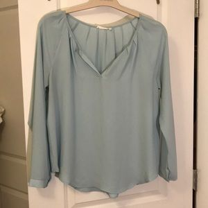 LUSH light blue blouse.